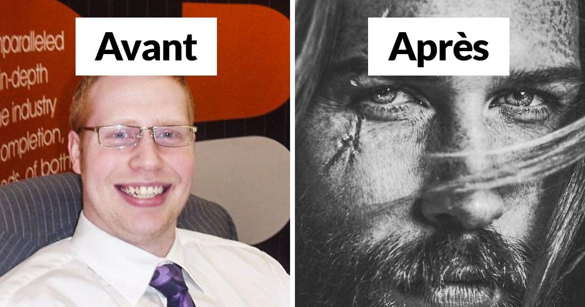 Un barbier a dit à cet homme d'affaires «timide» de se laisser pousser la barbe, et ça a transformé sa vie