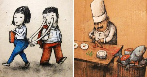 19 illustrations incisives par un artiste espagnol