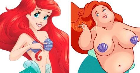 Voici à quoi ressembleraient 7 princesses de Disney si elles vivaient en 2017
