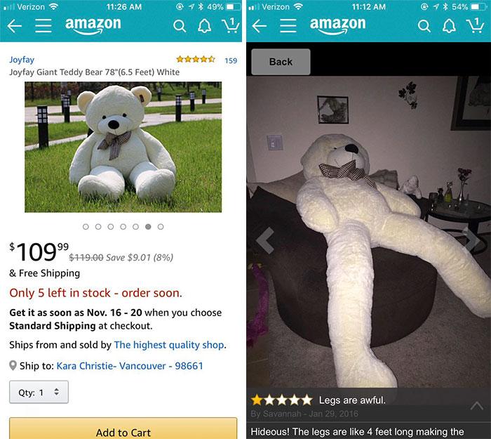 20 personnes qui ont profondément regretté d'avoir fait des achats sur Internet (nouvelles images)