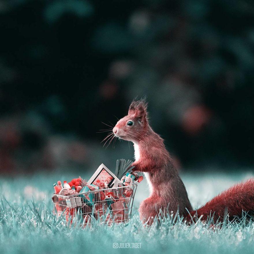 Un artiste français crée des animaux fantastiques à l'aide de Photoshop, et le résultat est incroyable