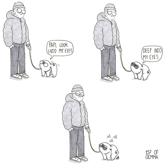 30 bandes dessinées adorables qui résument parfaitement la vie avec un chien (nouvelles images)