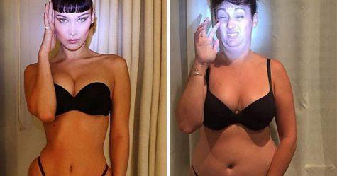 Cette femme continue de reproduire les photos Instagram de célébrités (nouvelles images)