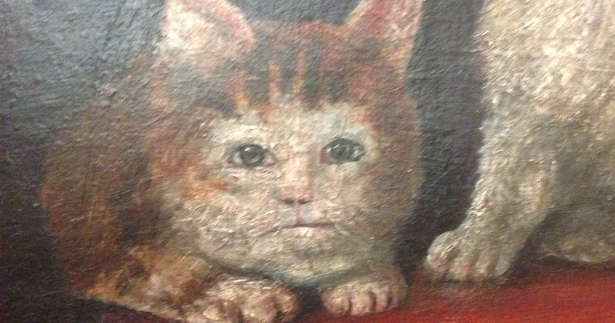 Quelqu'un a remarqué à quel point les peintures médiévales de chats sont laides, et c'est juste trop drôle (25 images)