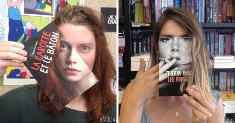 Voici ce qui se produit quand les employés d'une librairie s'ennuient
