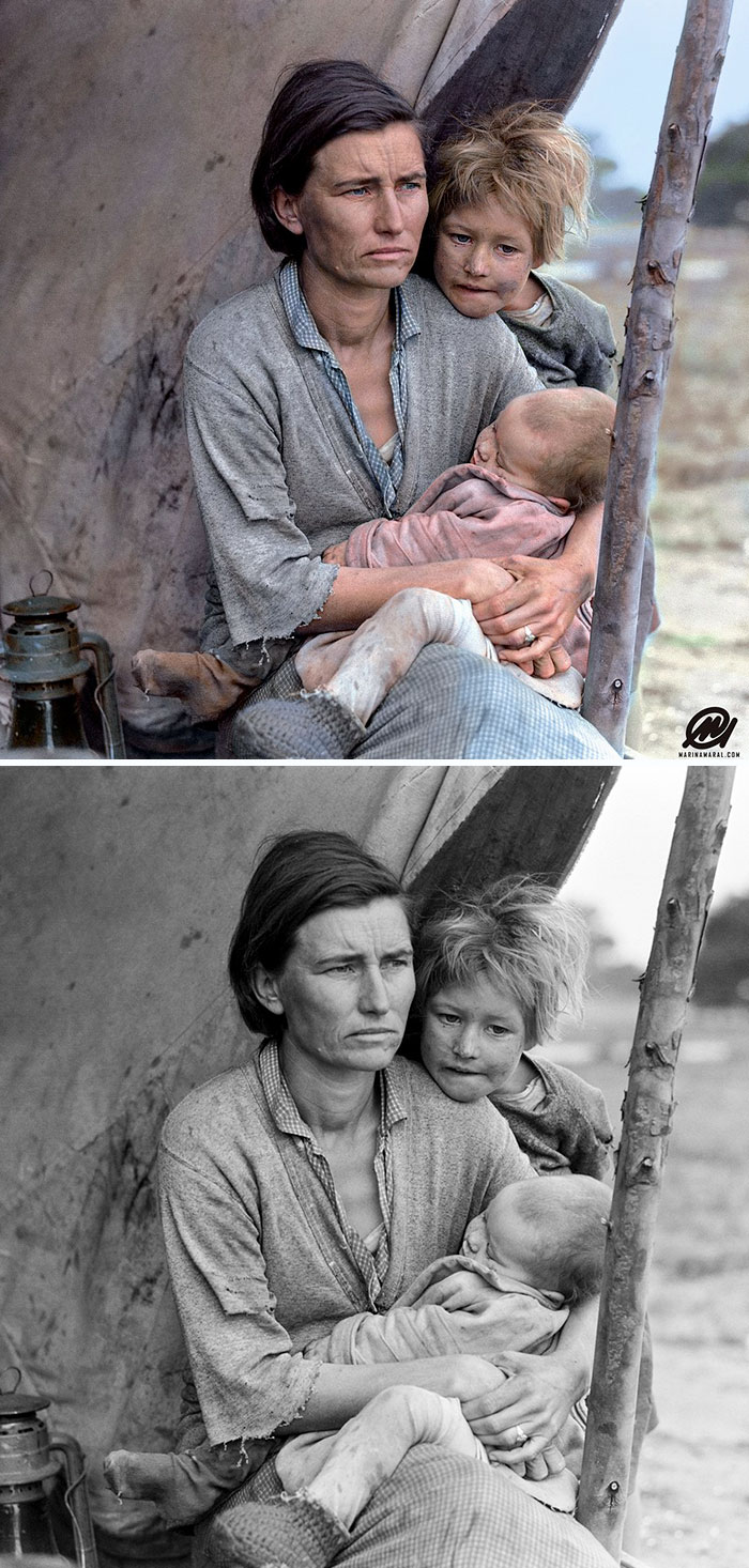 Les dernières photos d'une fille polonaise de 14 ans à Auschwitz ont été colorisées, et elles vont te briser le coeur