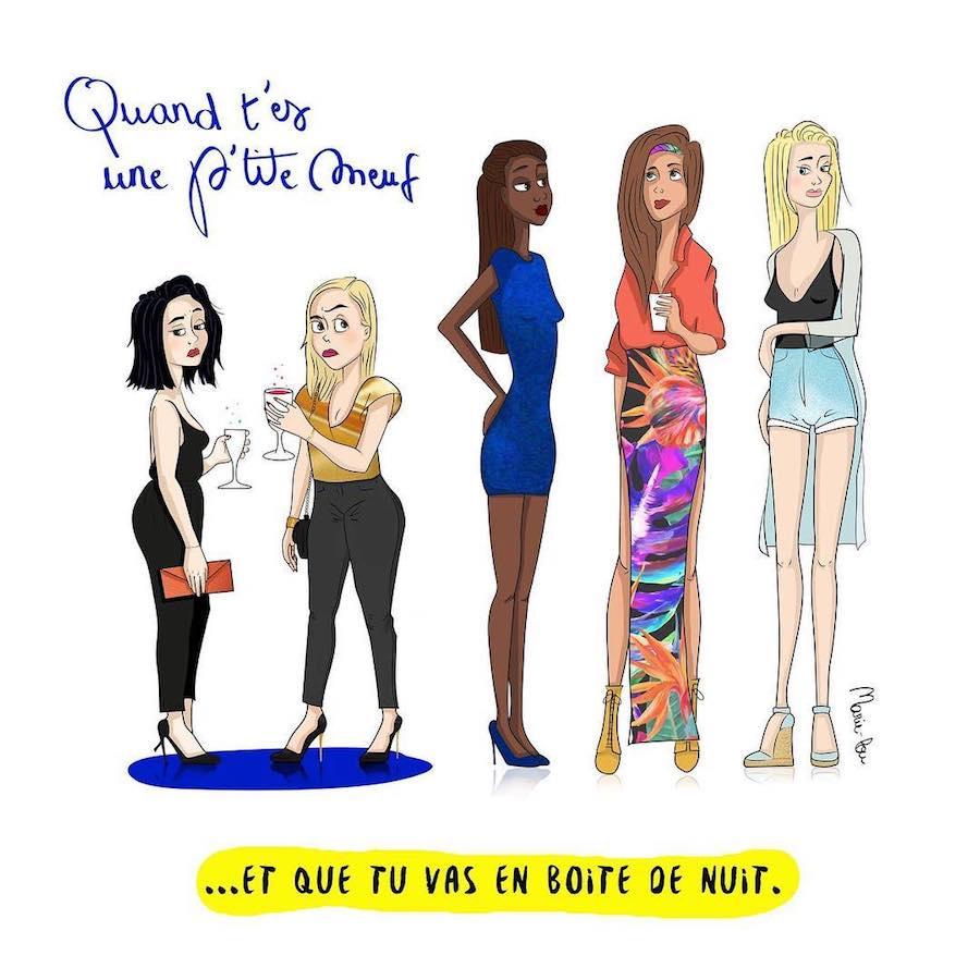 Cette femme se moque de sa petite taille sur Instagram, et ces 26 illustrations vous feront mourir de rire