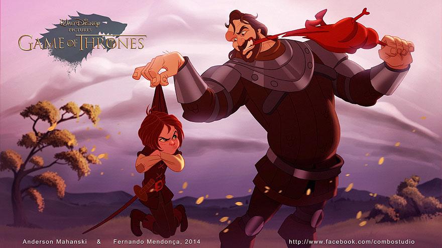 Et si «Game of Thrones» avait été réalisé par Disney?