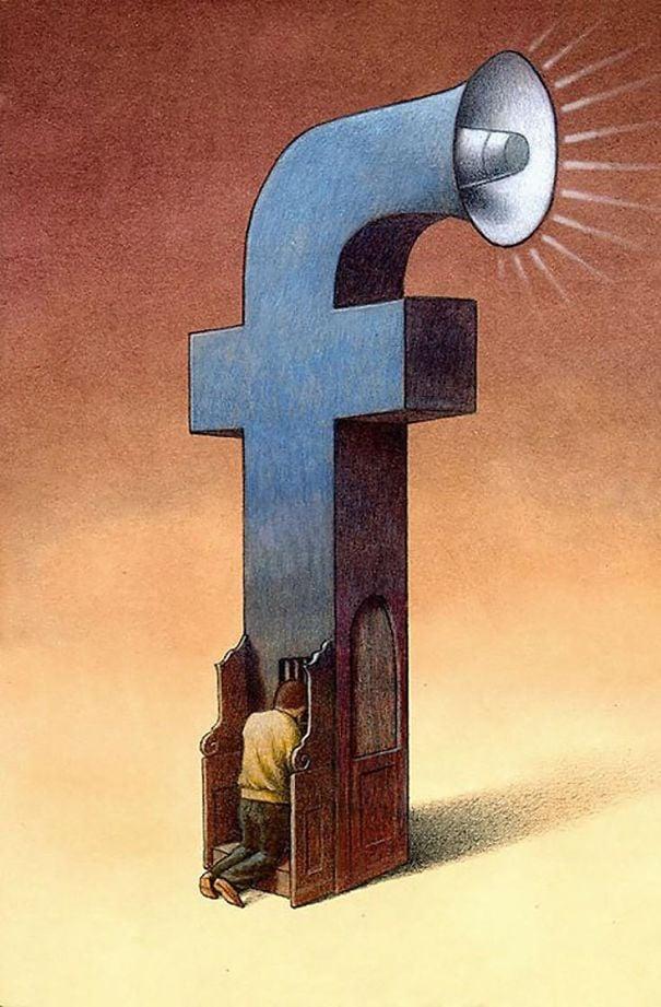30 nouvelles illustrations d'une franchise brutale par Pawel Kuczynski qui montrent ce qui cloche avec la société moderne – ipnoze