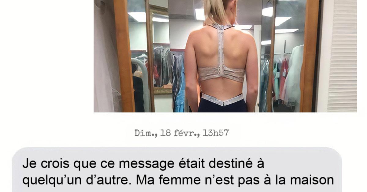 Cette femme a accidentellement texté le mauvais numéro en demandant conseil sur sa robe, mais elle ne s'attendait pas à changer la vie d'un garçon