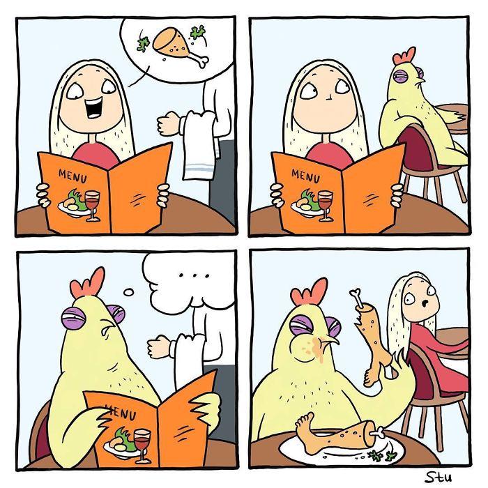 Une artiste présente les problèmes quotidiens des filles en 20 bandes dessinées amusantes