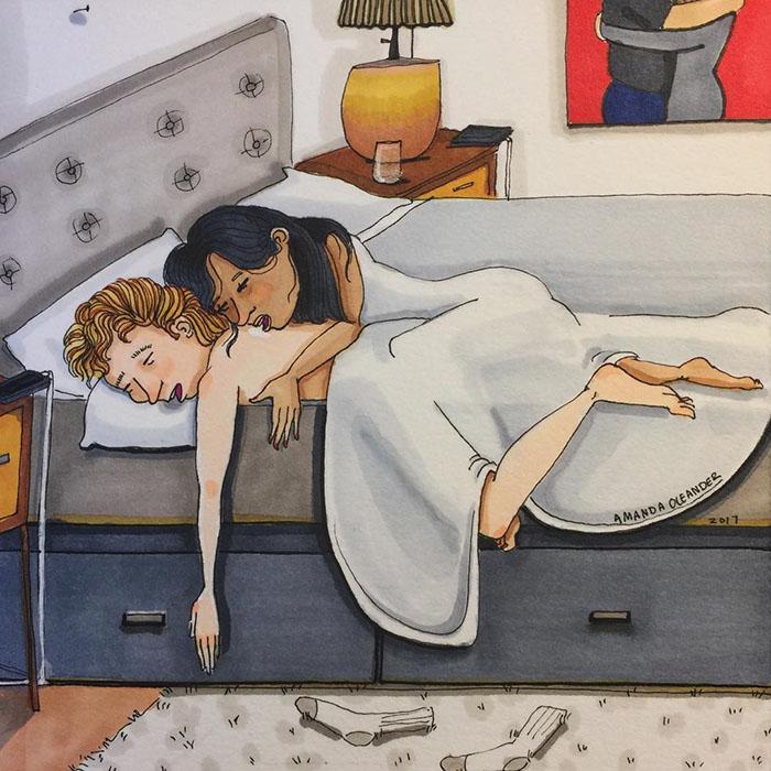Le côté caché des relations à long terme révélé en 20 illustrations d'une honnêteté brutale
