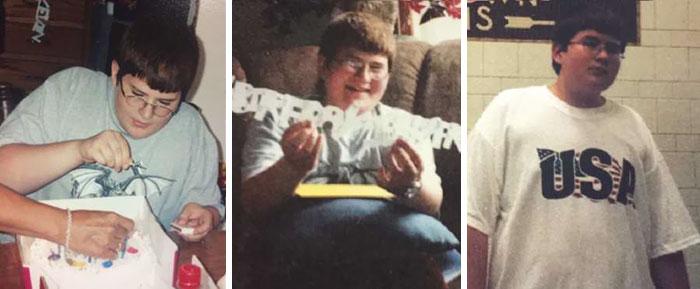 Les internautes sont fous de ce gars qui ressemble à un prince de Disney après avoir perdu 32 kilos alors qu'il prenait soin de sa mère malade