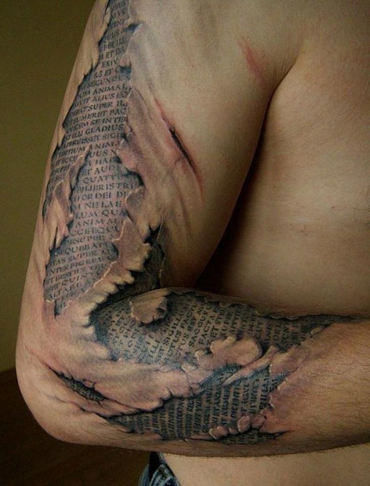 34 tatouages 3D qui sont trop parfaits pour être réels