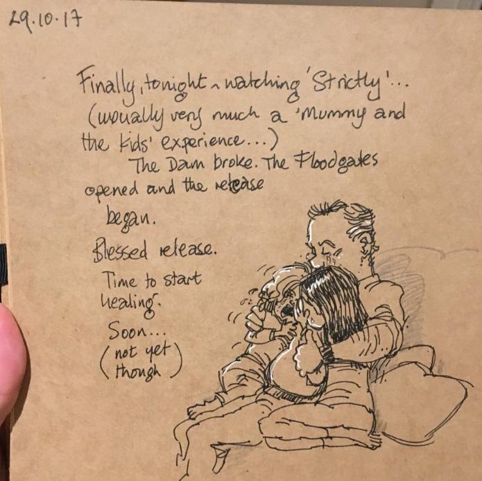 Un animateur de Disney dessine sa vie avec ses deux enfants après le décès de sa femme, et ses dessins vont vous briser le coeur