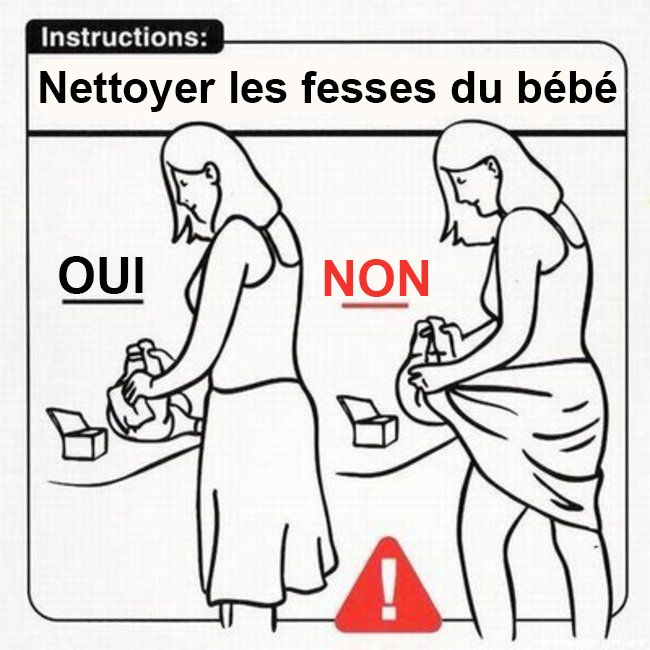 23 astuces hilarantes pour apprendre à s'occuper d'un bébé