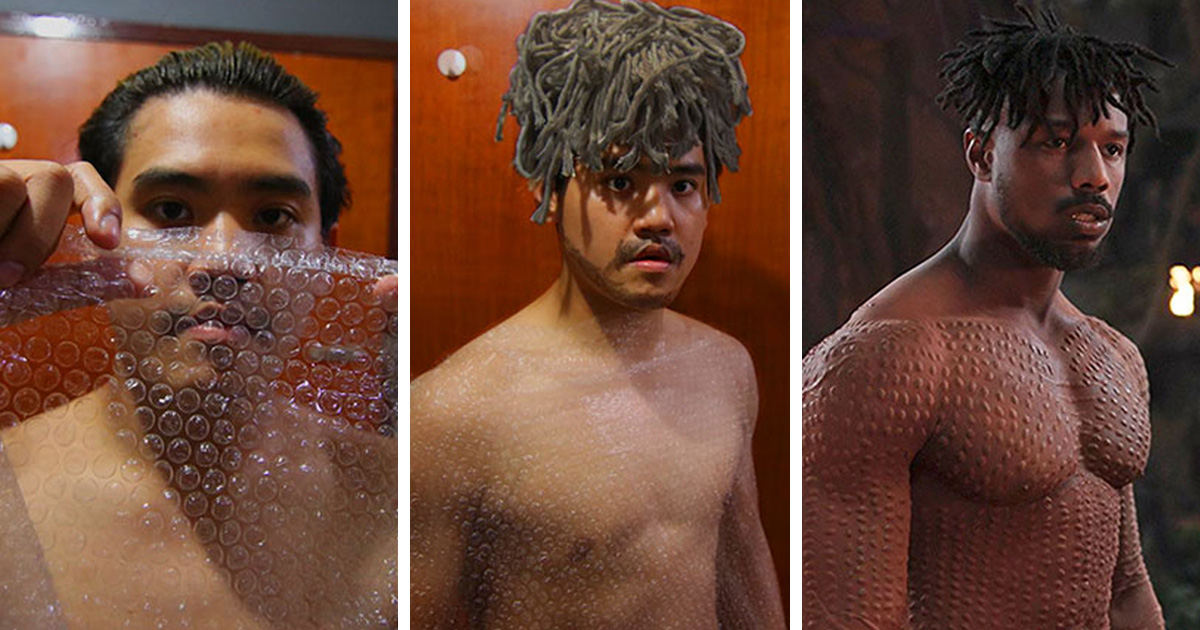 Le gars qui fait des déguisements pas chers est de retour, et ces 30 costumes vont vous faire rire