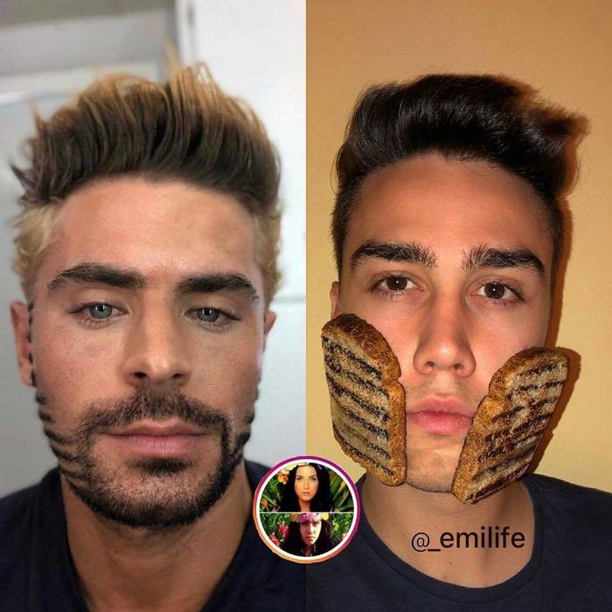 Ce gars a attiré plus de 1400000 fans sur Instagram en se moquant des photos de célébrités