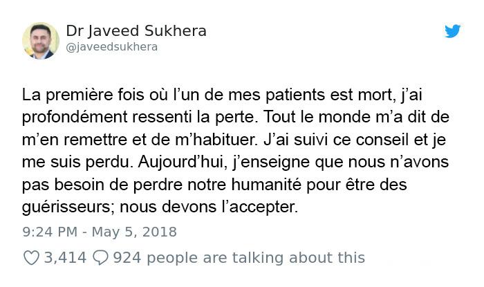 10 histoires incroyables de médecins qui sont devenues virales après leur publication