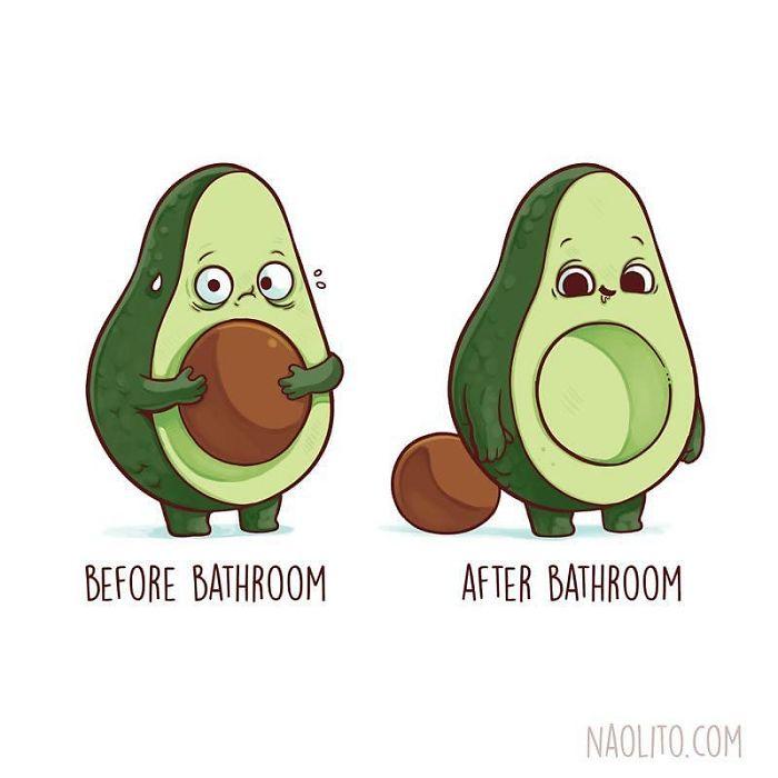 21 illustrations hilarantes avant et après par l'artiste espagnol Nacho Diaz