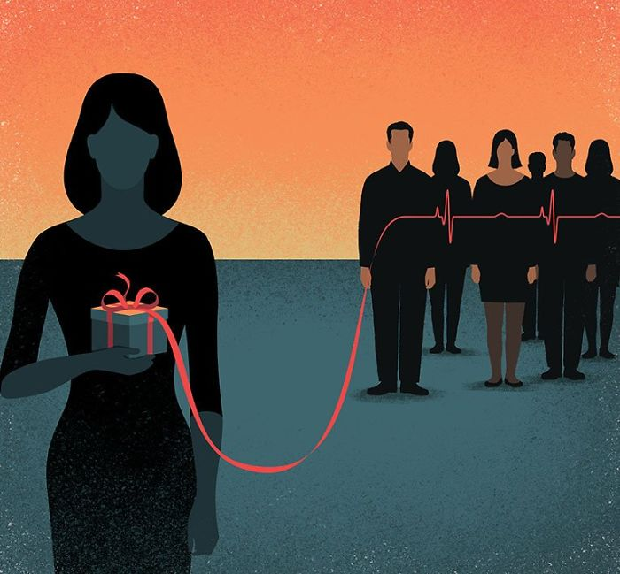 30 illustrations d'une franchise brutale par Davide Bonazzi qui montrent ce qui cloche avec le monde d'aujourd'hui