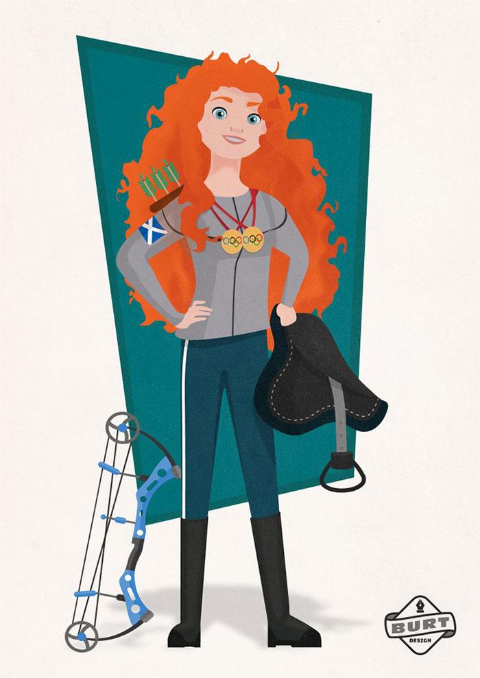 Un illustrateur dépeint les princesses Disney comme si elles avaient fait carrière en 2018, et le résultat est vraiment génial