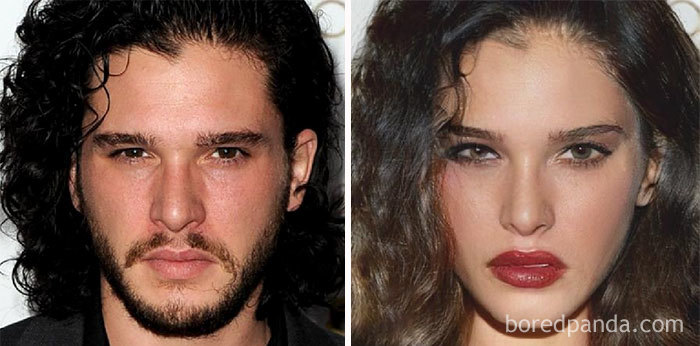 On a transformé 20 acteurs de Game of Thrones en femmes, et Kit Harrington est étrangement sexy