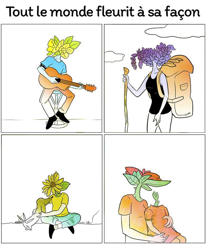 20 bandes dessinées simples, mais puissantes, par une artiste vénézuélienne qui va vous faire réfléchir et sourire