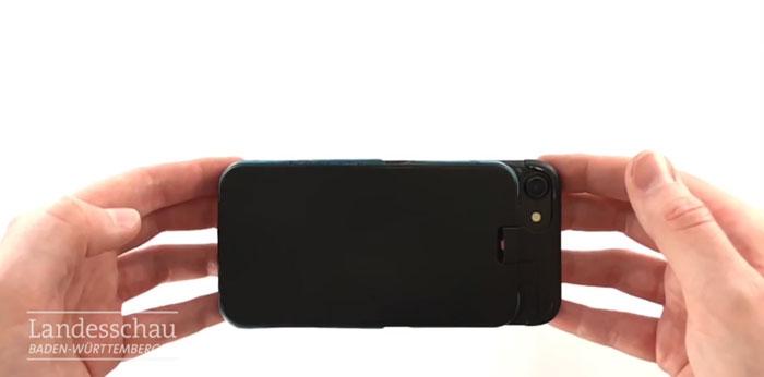 Un étudiant génial invente un «coussin gonflable mobile» qui se déploie quand vous laissez tomber votre téléphone