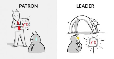 8 illustrations résument parfaitement la différence entre un patron et un leader