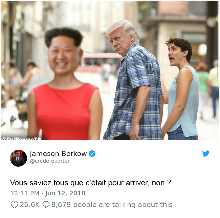 18 images et réactions hilarantes à la rencontre entre Trump et Kim Jong-un