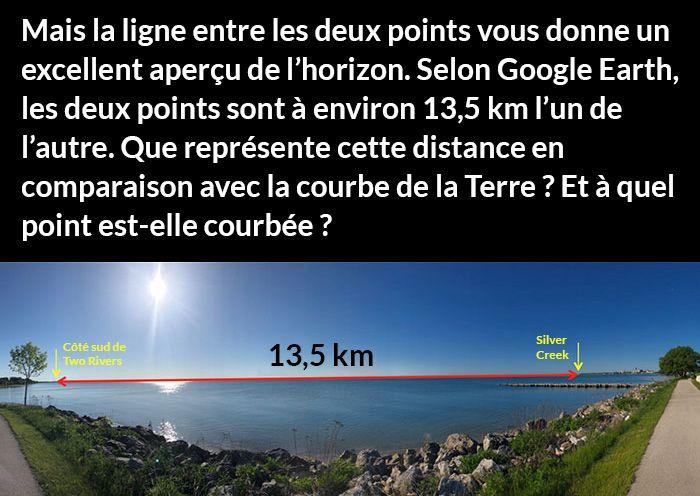 La façon dont ce gars prouve que la Terre n'est pas plate est brillante