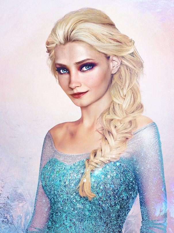 Cet artiste a réinventé 22 personnages de Disney comme de vraies personnes, et les hommes vont être contents que le prince Adam n'existe pas vraiment