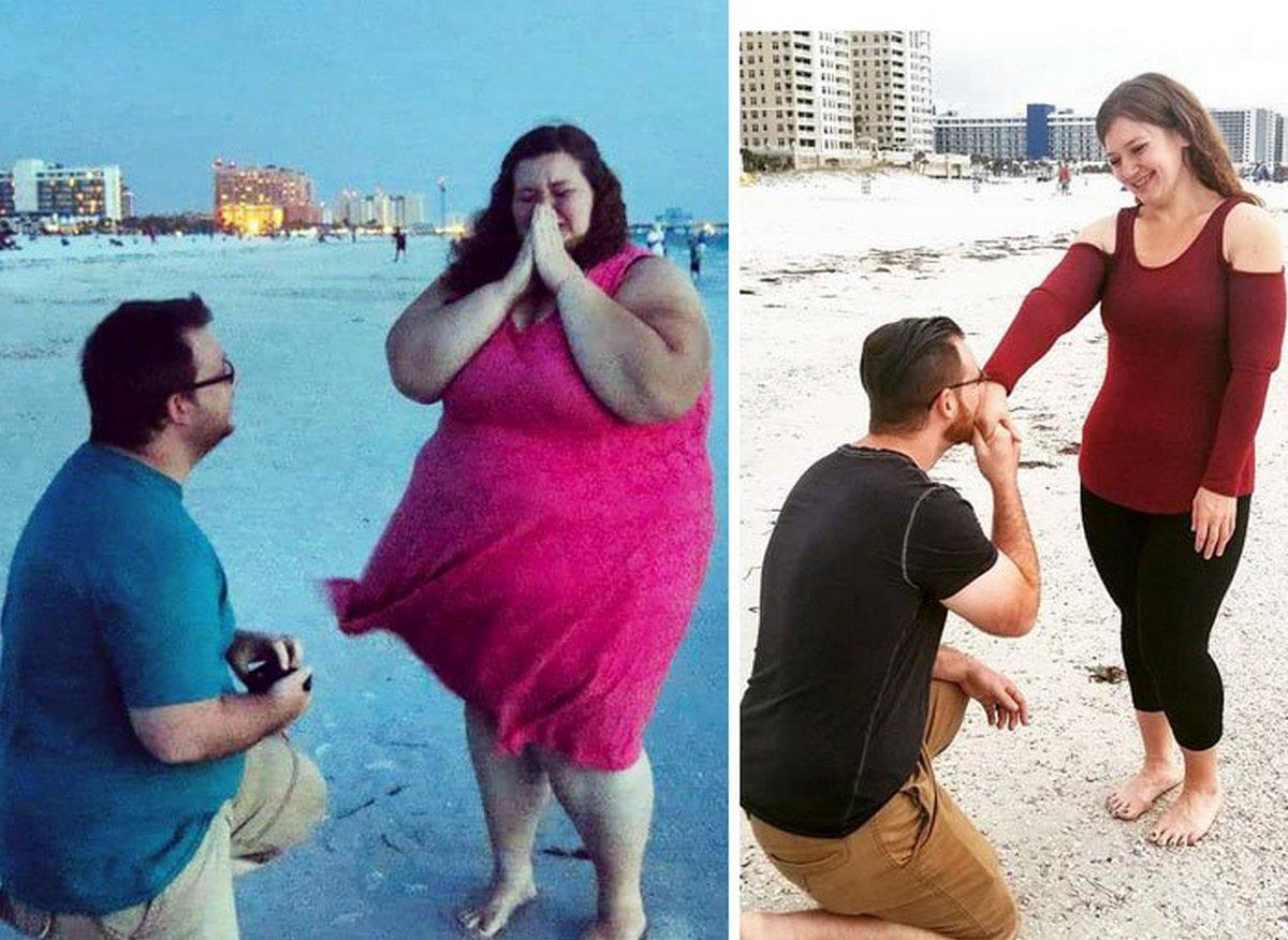22 photos prises avant et après des transformations incroyables qui prouvent que si eux ont réussi, vous pouvez réussir aussi