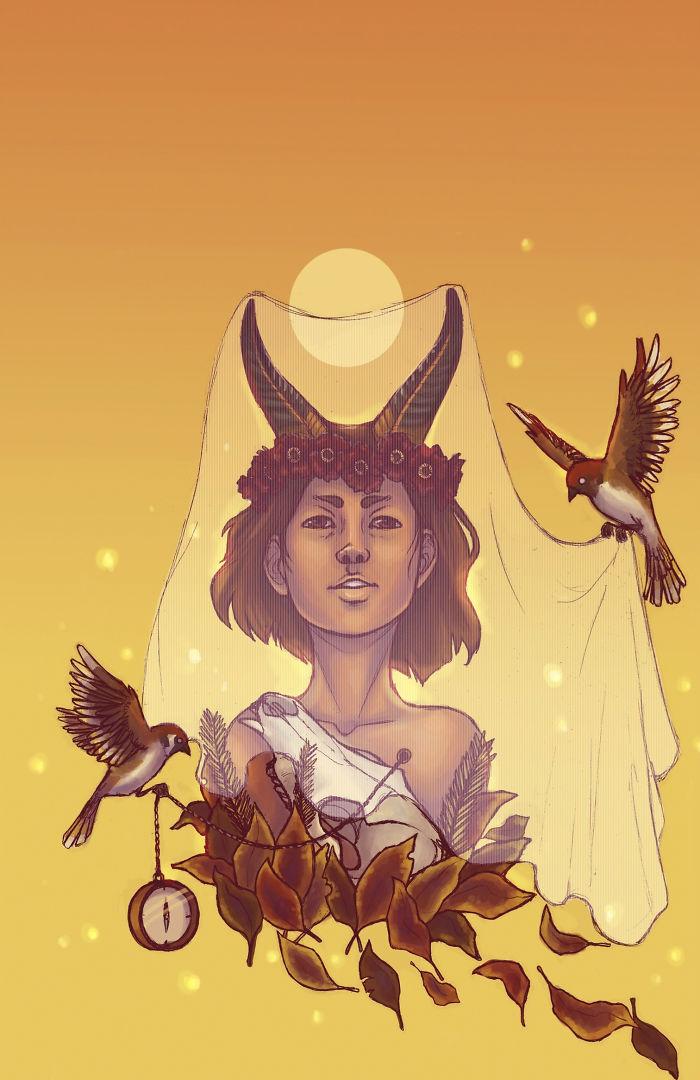 12 signes du Zodiaque réinventés en déesses mythiques