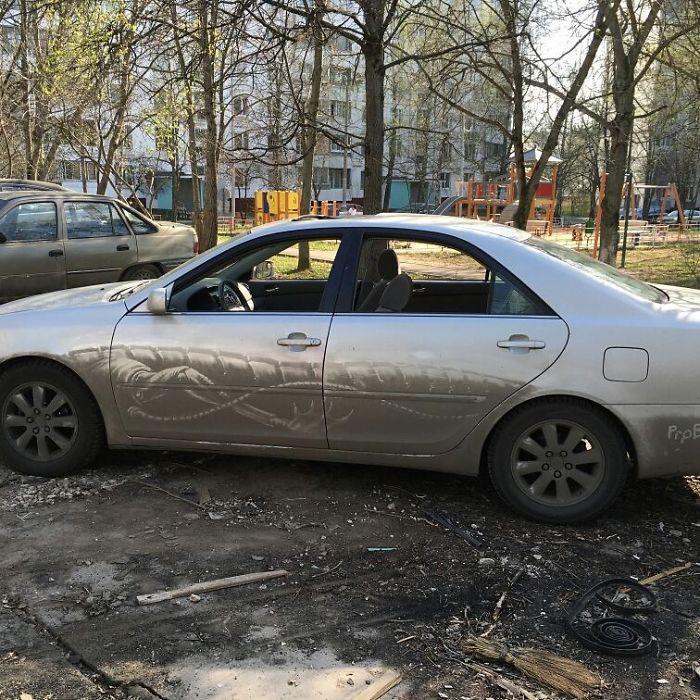 Des propriétaires de voitures sales ont trouvé leurs voitures «vandalisées» de la manière la plus inattendue, et votre auto pourrait être la prochaine