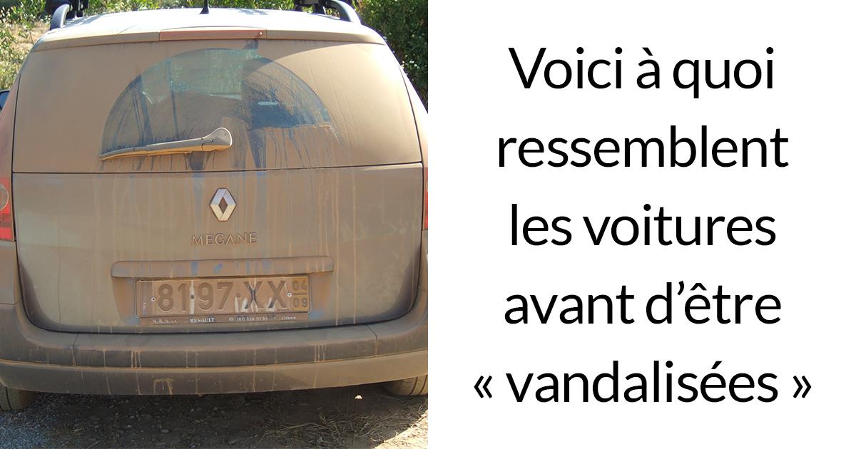 Des propriétaires de voitures sales trouvent leurs voitures «vandalisées» de la manière la plus inattendue, et votre auto pourrait être la prochaine