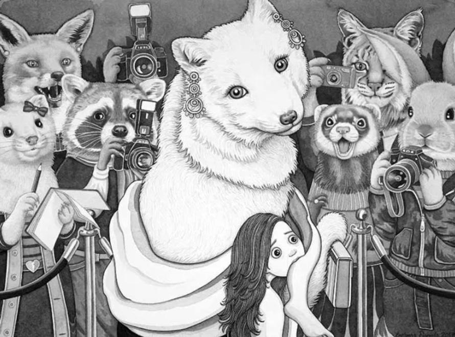 12 images percutantes montrent à quoi pourrait ressembler le monde si les animaux se comportaient comme des humains