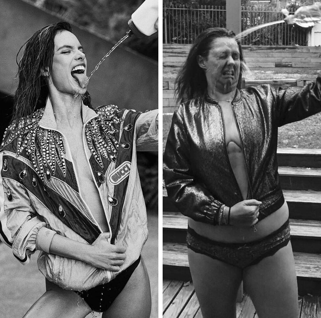Cette femme qui parodie les photos instagram de célébrités est de retour, et ces 19 nouvelles images vont vous faire rire