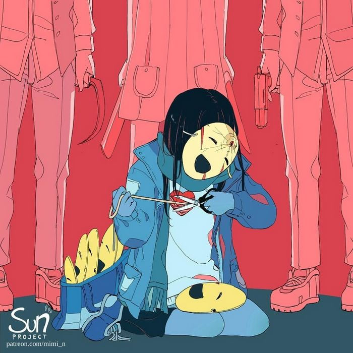 L'artiste Mimi N révèle les émotions déchaînées qui parfois nous habitent, et la vérité pourrait vous choquer (26 images)