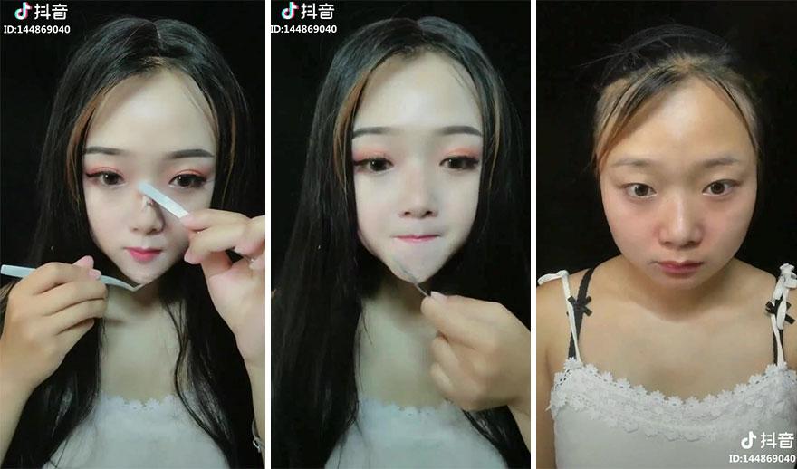 Après avoir vu ces 21 femmes enlever leur maquillage, vous ne serez plus jamais capable de faire confiance à personne