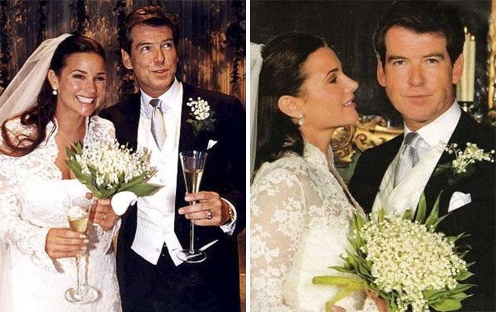 Pierce Brosnan et sa femme célèbrent 25 ans d'amour, et leurs photos au fil des ans sont des objectifs de couple