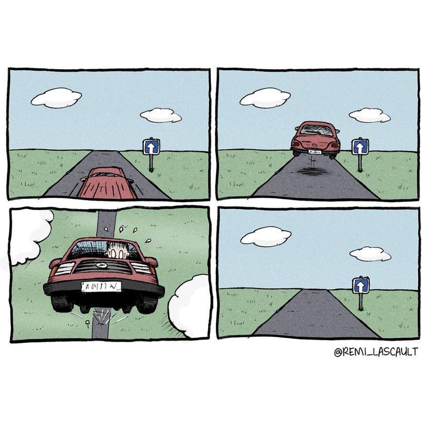 Je dessine des bandes dessinées stupides pour les gens avec un sens de l'humour noir (Attention: images explicites)