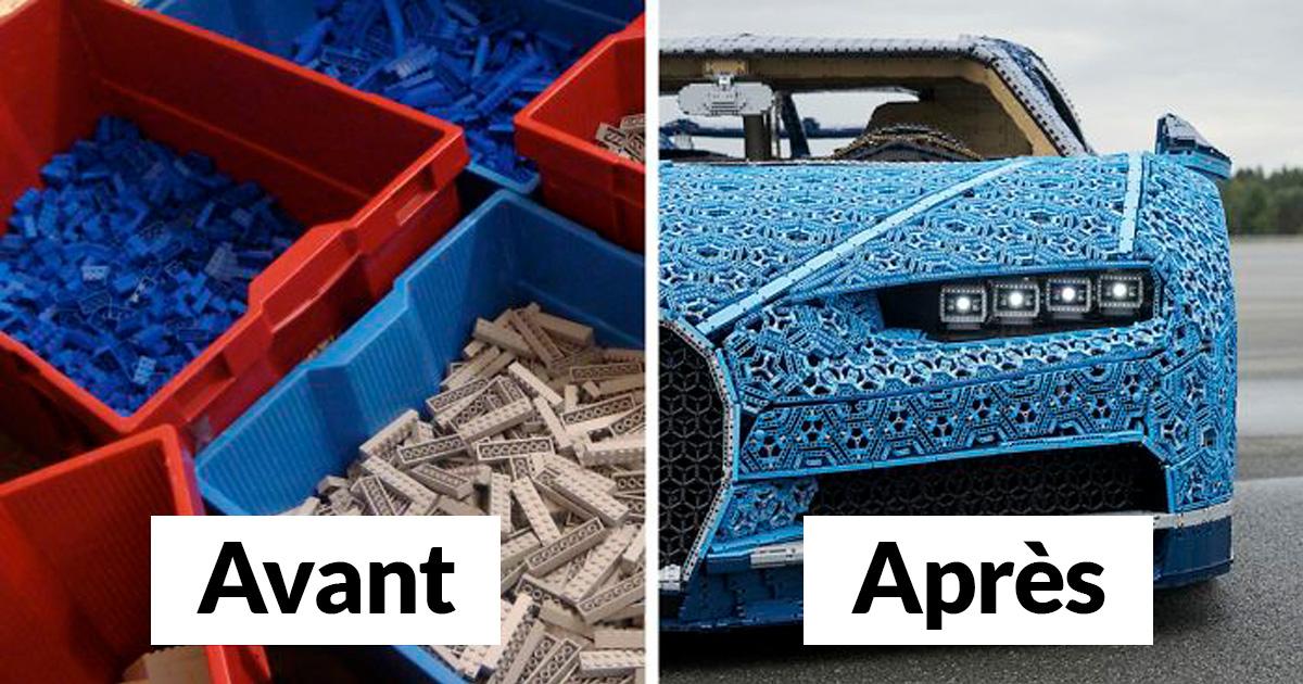 LEGO a construit une Bugatti Chiron avec plus de 1000000 de briques LEGO, et cette vidéo d'essai montre à quel point elle est épique