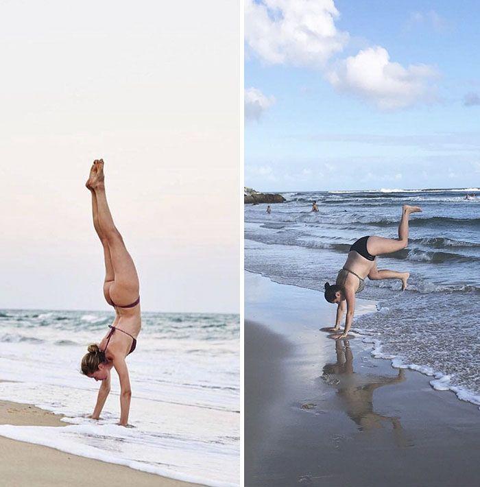 Cette femme continue d'imiter les célébrités sur Instagram, et le résultat est mieux que l'original (nouvelles images)