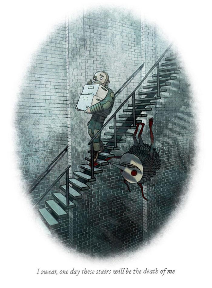 20 histoires d'horreur racontées en une seule image que vous ne devriez pas lire seul