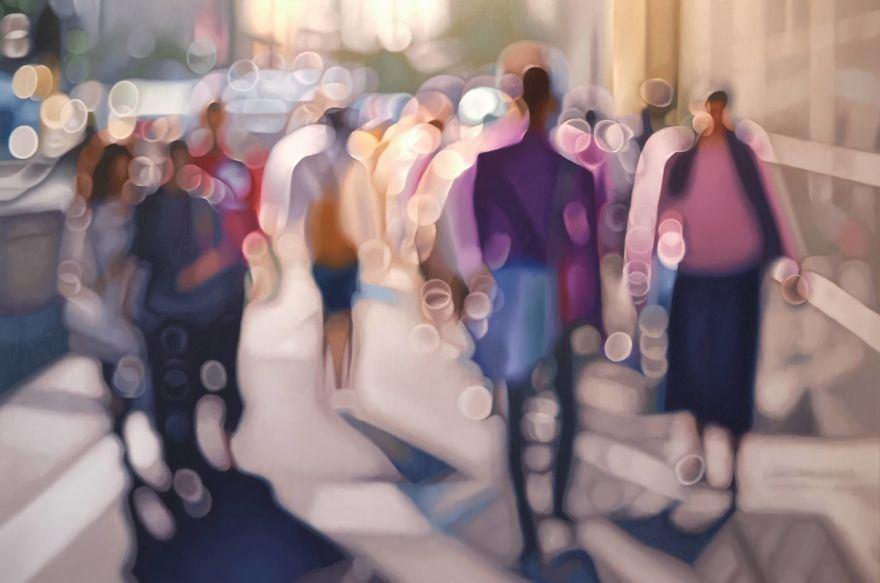 Voici comment les gens avec une mauvaise vue voient le monde lorsqu'ils enlèvent leurs lunettes (29 peintures à l'huile)