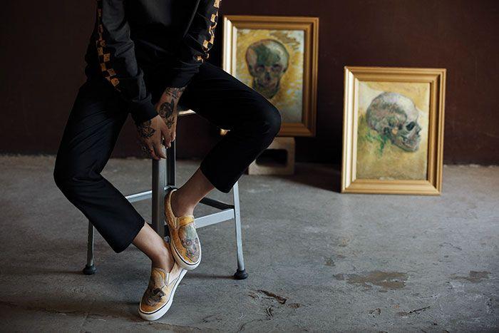 Vans s'associe au musée Van Gogh pour créer une nouvelle ligne de vêtements et on est en amour avec les chaussures