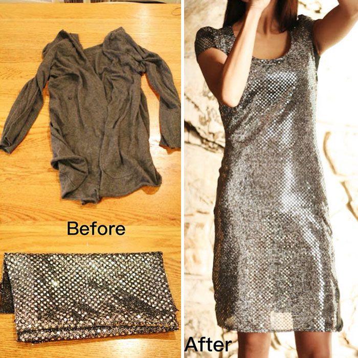 La façon dont cette maman transforme les vieux vêtements laids pour économiser de l'argent va vous émerveiller