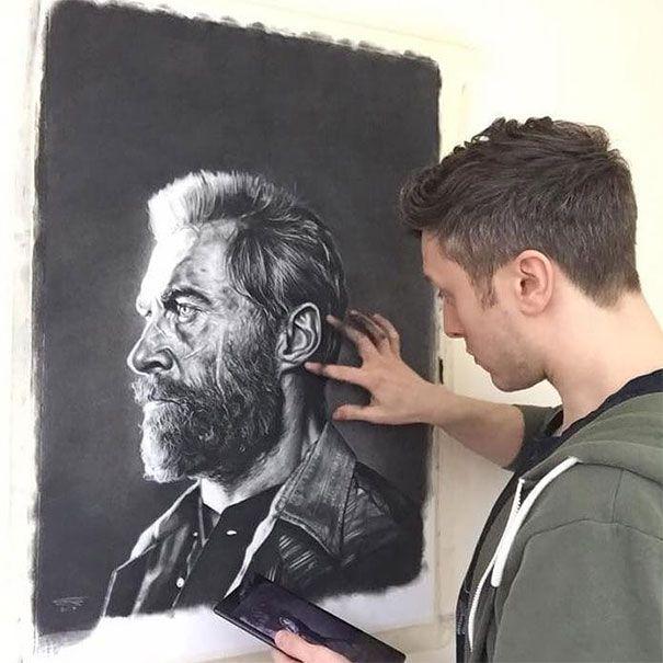 Des gens n'arrêtaient pas de demander à cet artiste de les dessiner gratuitement, alors il a décidé de leur donner une leçon